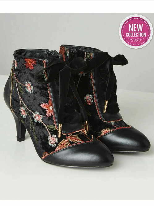 Wild Side Embroidered Bootees