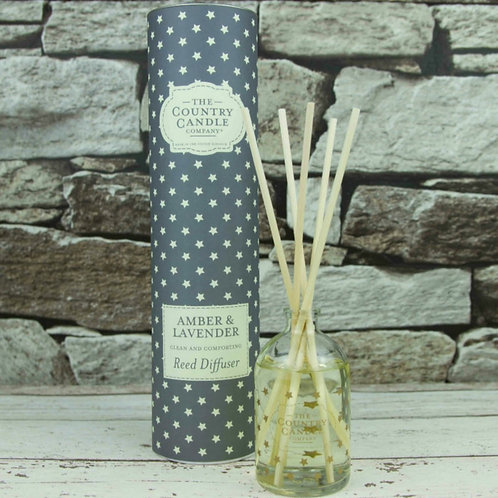 Amber and lavender reed diffuser - Superstars collection