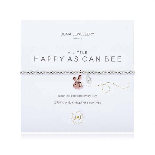 A Little Happy As Can Bee Bracelet