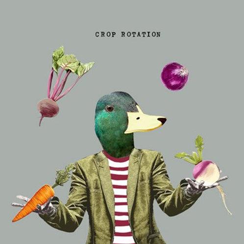 Crop rotation -Greeting Card