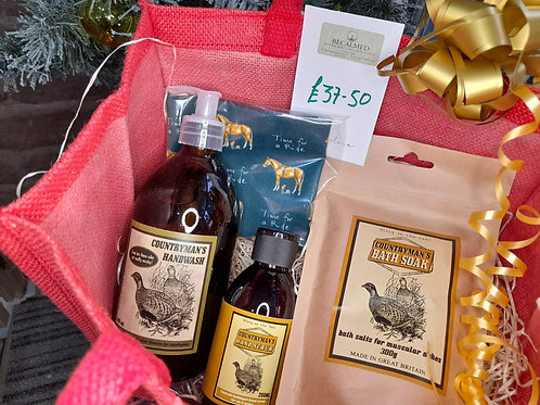 Countryman's relaxation gift set
