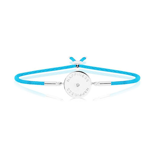 Message bracelet- Happiness