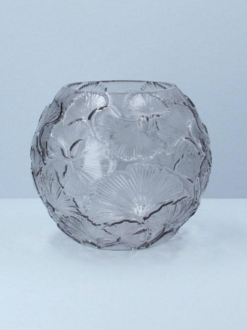 Leaf globe vase