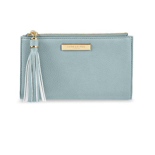 Sophia tassel pouch - blue