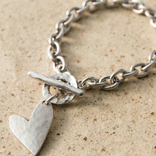 True love T-bar bracelet