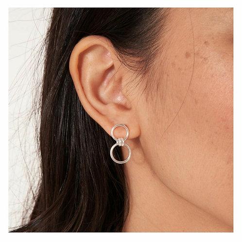 Lia link earrings