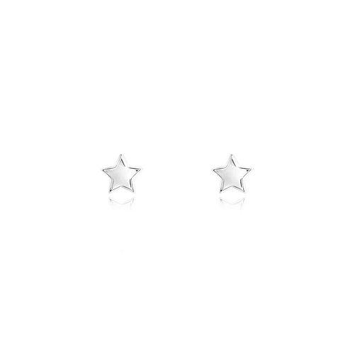 Lila Star Stud Earrings