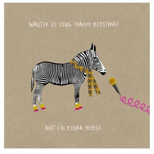 Kinda horse -Greeting Card