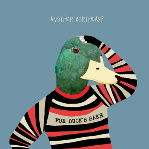 Another Birthday? For ducks sake - greetings card