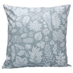 Grey Garden Study Fabric Cushion