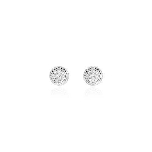 Zaria silver coin studs
