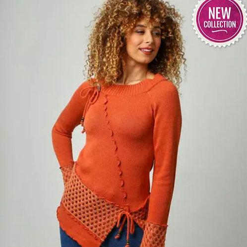 Individuals jumper- orange
