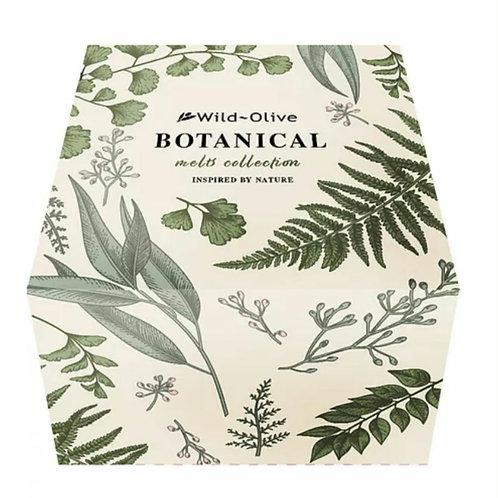 Botanical bath melt collection
