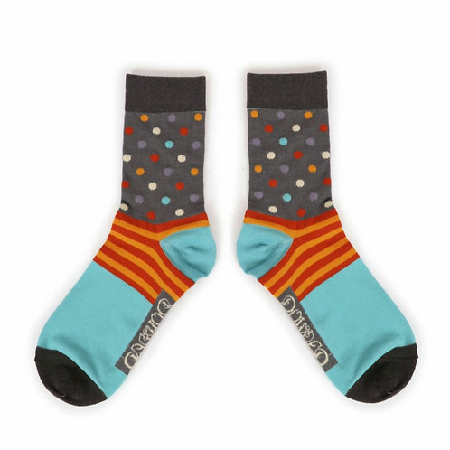 Spot Mens Ankle Socks (two colourways)