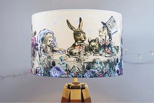 Mad Hatters Tea Party Lampshade