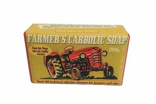 Farmers exfoliating carbolic soap