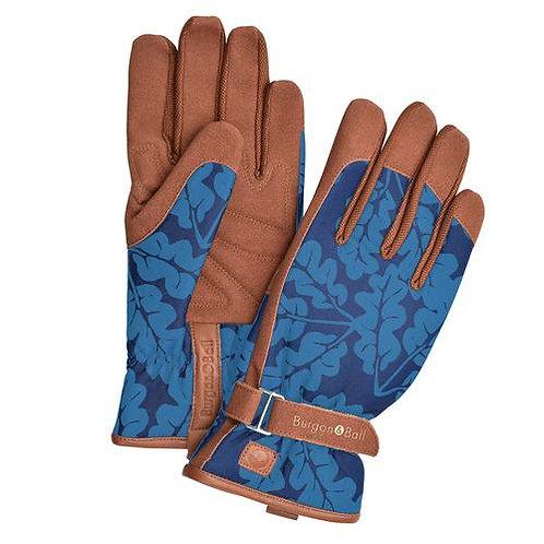 Love the glove- Oak leaf navy