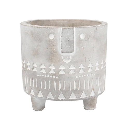 Stone face pot cover-  3 sizes