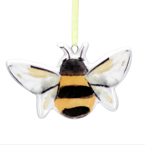 Ceramic bee decoration