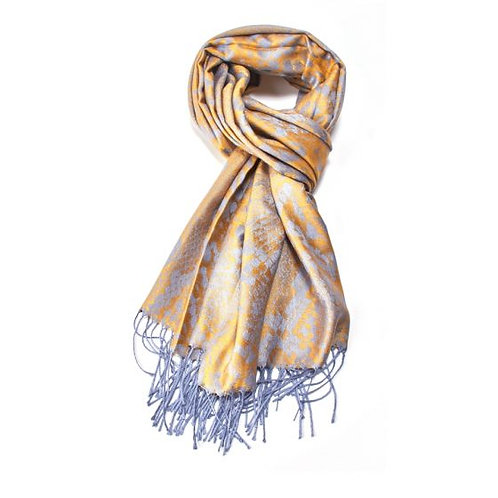 Silver snakeskin scarf (pashmina)