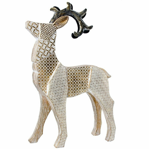 Embossed resin stag (20566)