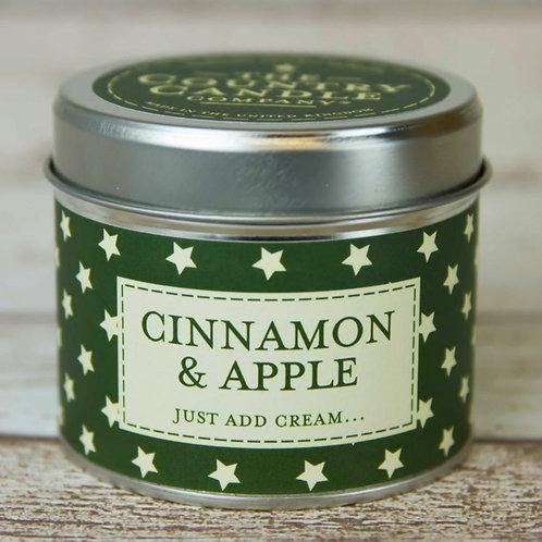 Cinnamon & apple candle  - Christmas superstars collection