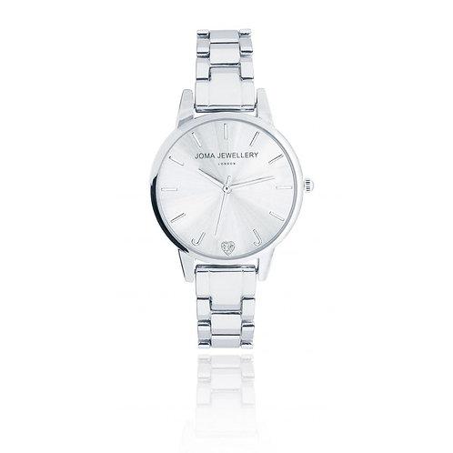 Piper silver watch