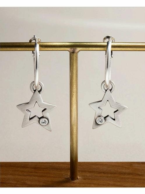 Sarin star earrings