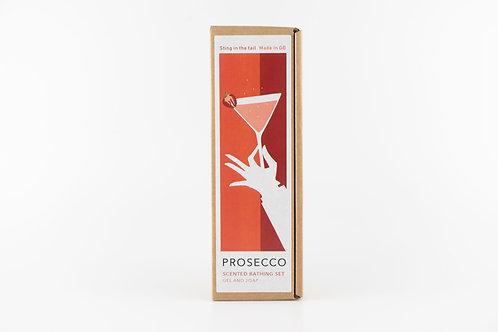 Mini prosecco gift box