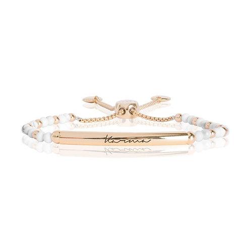 Signature Stones bracelet- Karma