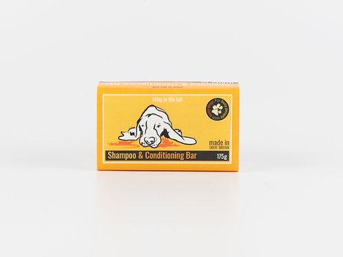 Dog shampoo & conditioner bar
