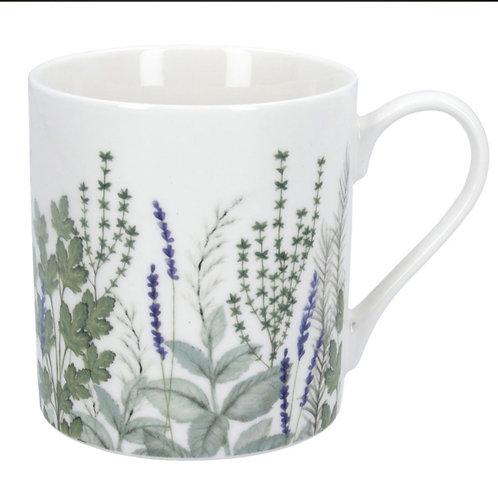 Herbs bone China mug (80451)