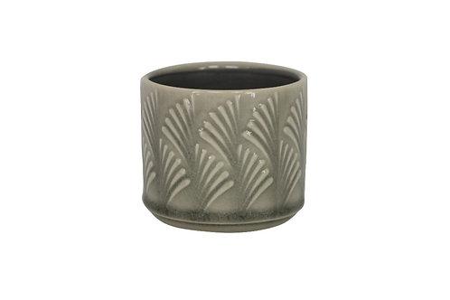 Grey mini pot cover
