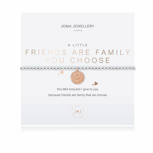 A little friends are the family you choose bracelet (3797)