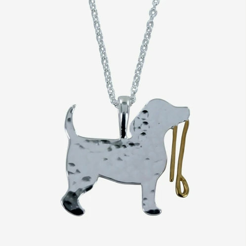 Sterling silver spot the dog necklace (BB219)