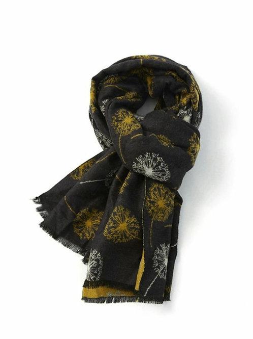 Terry dandelion winter scarf