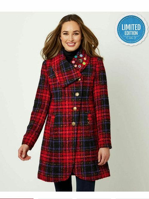 Asymmetric Collar Coat