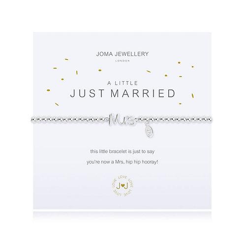 A Little Just Married Bracelet