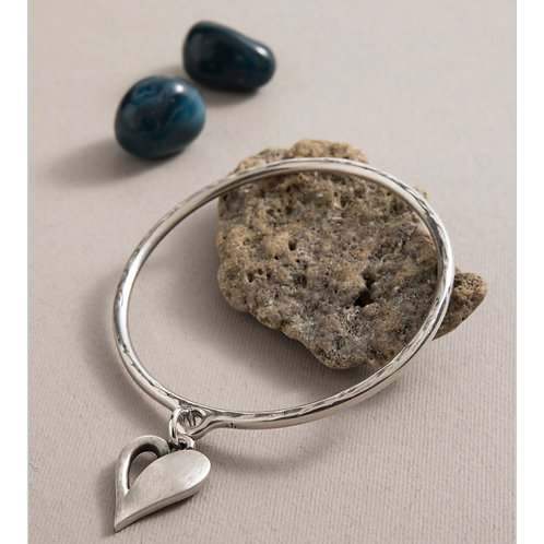 Simply You Heart Bangle