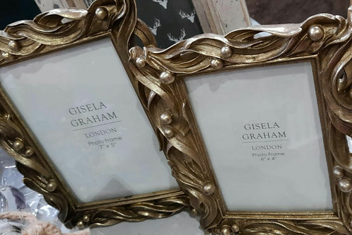 Gold Berry picture frame (2 sizes)