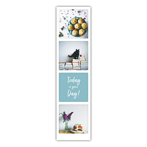 Today is your day bookmark