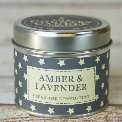 Amber & lavender candle  - Superstars collection