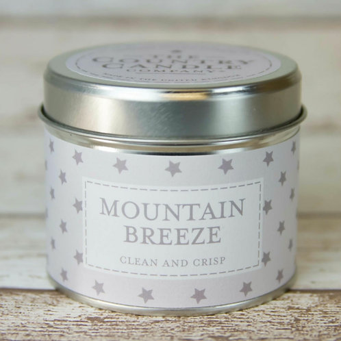Mountain breeze candle   - Christmas superstars collection