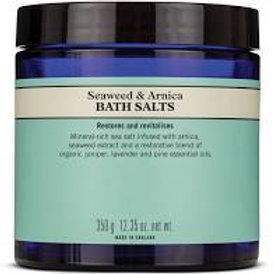Seaweed & Arnica Bath Salts