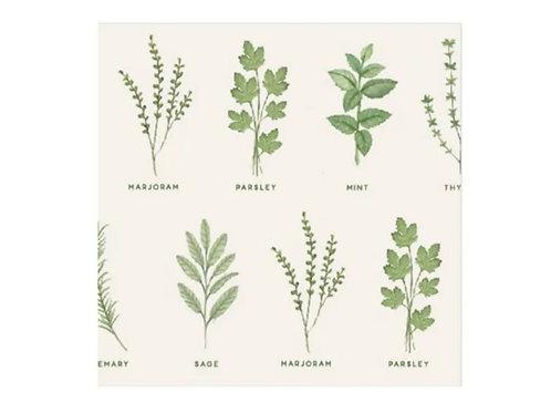 Herb napkins