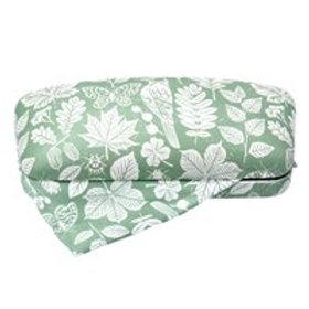 Green garden study glasses case