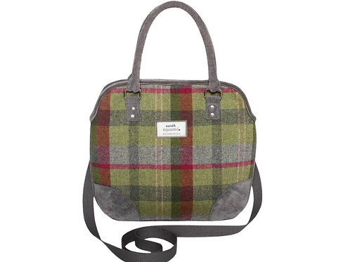 Grace bag - Stone moss tweed
