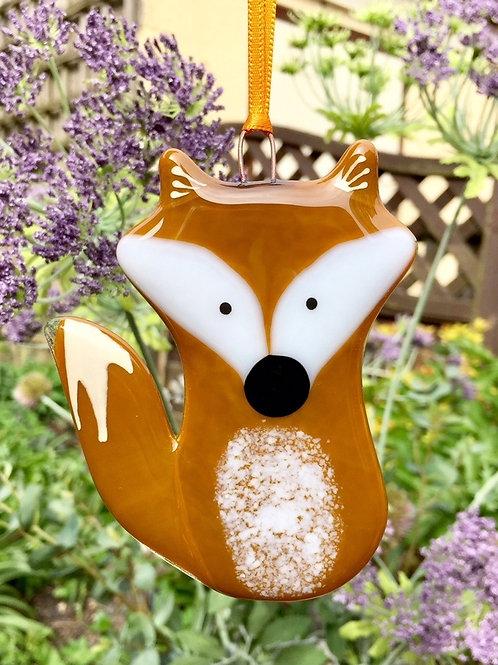 Fused Glass Fox