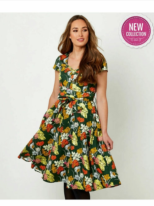 Fancy Full Skirt Dress