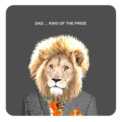 Dad, king of the pride -coaster